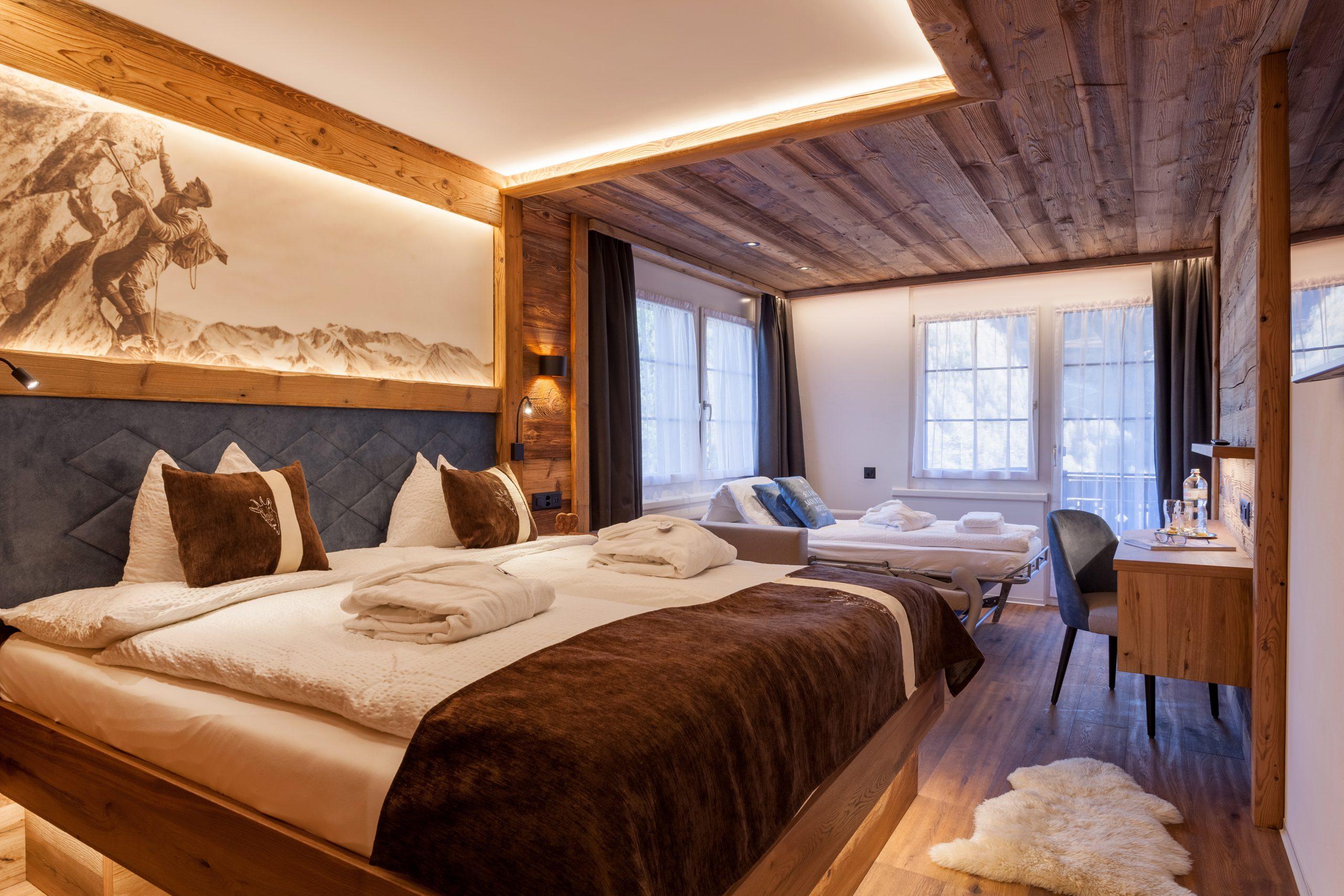 Doppelzimmer Ost mit Zustellbett